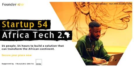 Startup 54: Africa Tech 2.0 tickets
