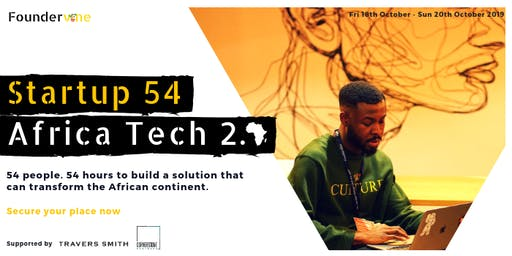 Startup 54: Africa Tech 2.0
