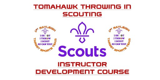 Tomahawk Throwing in Scouting: Instructor Development Course