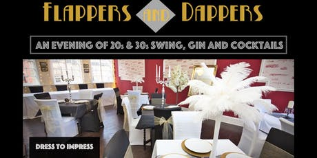 Flappers & Dappers - An evening of 1920s/30s Swing, Gin and Cocktails tickets