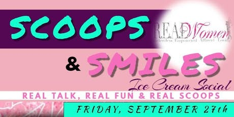 Scoops & Smiles Ice Cream Social tickets