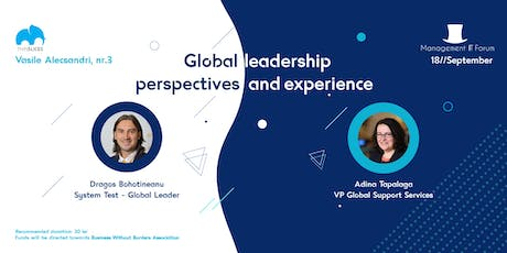 #mIT39 Global Leadership - Perspectives and Experience tickets