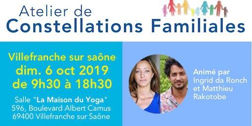 Atelier de Constellations Familiales à Villefranche sur Saône