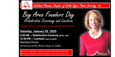 Bay Area  Founders Day 2020 (Florida)