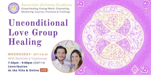 Unconditional Love Group Healing - Wednesday