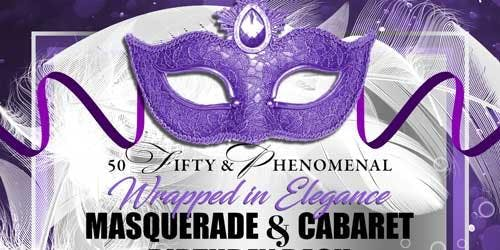Mask and Heels Themed  Masquerade and Cabaret Birthday Bash