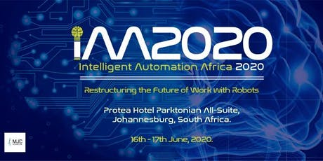 Intelligent Automation Africa 2019 tickets