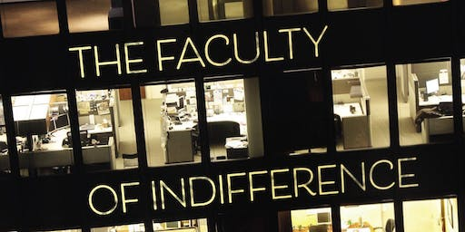 'The Faculty of Indifference' with Guy Ware