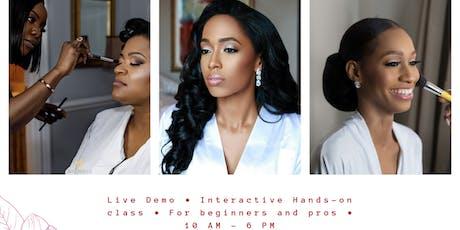 Bridal Makeup Masterclass tickets