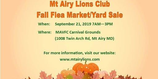 MALC Fall Yard Sale/Flea Market