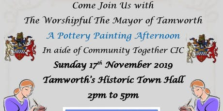 A Pottery Painting Afternoon Tamworth  tickets