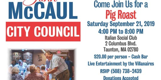 Pig Roast with John McCaul