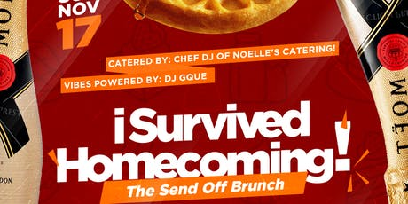 I SURVIVED HOMECOMING: The Send-Off Brunch tickets