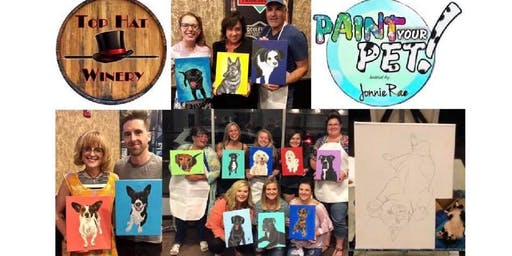 Paint Your Pet Night at Top Hat Winery