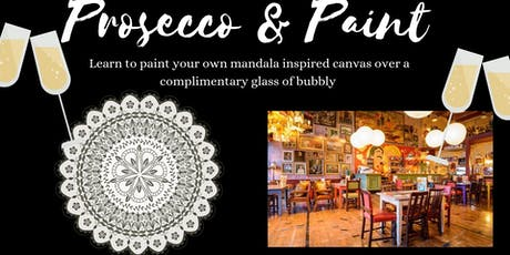 Prosecco and Paint- Mandala Art  tickets