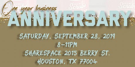 Oh So Sweet Scrubs, LLC. is celebrating it's One Year Business Anniversary tickets
