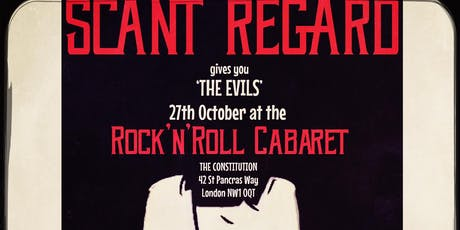 Scant Regard @ The Rock n Roll Cabaret tickets