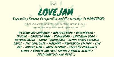 Lovejam Autumn Gathering Supporting Hempen Co-operative #SAVEUKCBD