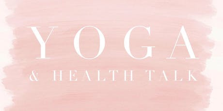 Yoga & Health Talk tickets