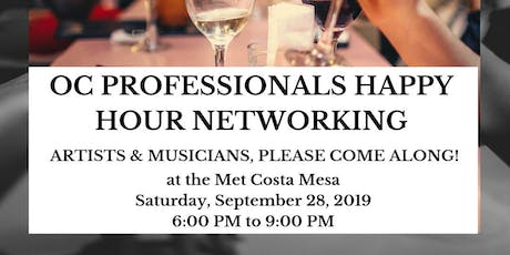 Happy Hour Networking Mixer for OC Professionals tickets