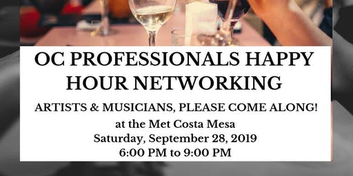 Happy Hour Networking Mixer for OC Professionals