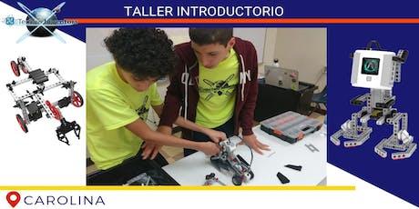 Robótica y Videojuegos/Sábados/Carolina/Taller Techno Inventors tickets