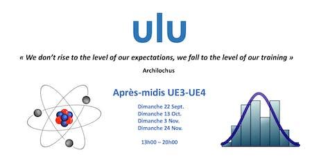 ULU - Dimanches UE3/UE4 billets