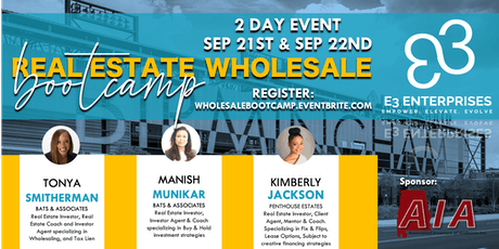 Real Estate Wholesale Bootcamp - 2 Day Event tickets