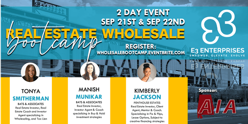 Real Estate Wholesale Bootcamp - 2 Day Event