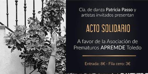 COMPAÑÍA DE DANZA PATRICIA PASSO Y ARTISTAS INVITADOS - ACTO SOLIDARIO