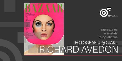 Fotografując jak RICHARD AVEDON  _ warsztaty fotograficzne
