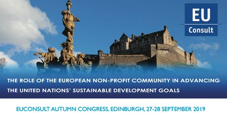 EUConsult Autumn Congress - The role of the European non-profit community in advancing the United Nations' Sustainable Development Goals tickets