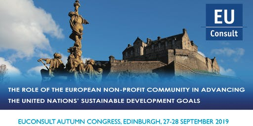 EUConsult Autumn Congress - The role of the European non-profit community in advancing the United Nations' Sustainable Development Goals