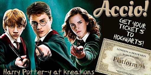 Harry Potter-y!