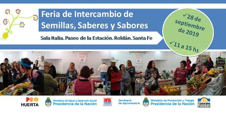 Feria de Intercambio de Semillas, Saberes y Sabores entradas