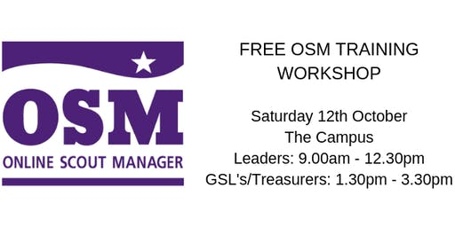 Online Scout Manager (OSM) Workshop - The finance bits!