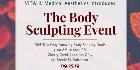 The Body Sculpting Event tickets