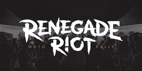 Renegade Riot Moto Rally 2020 tickets