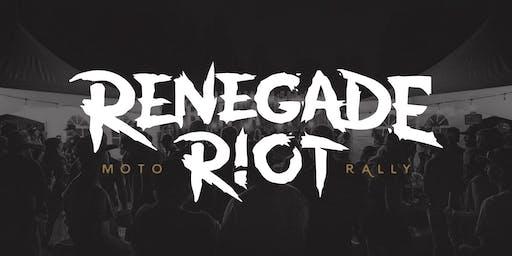 Renegade Riot Moto Rally 2020