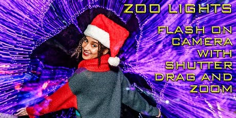 Flash-On-Camera Workshop: Zoo Lights with George Simian tickets