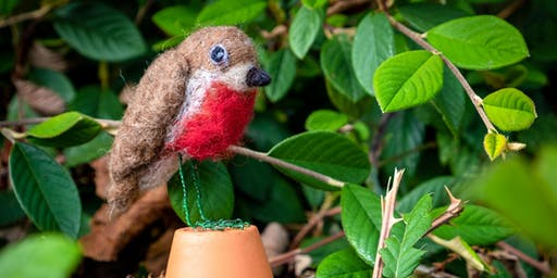 Needle Felting 3D Robin with Alison Hemmings