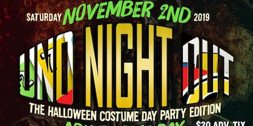 "TOKYO Presents "" UNO Night OUT: Halloween Game Day Party"""