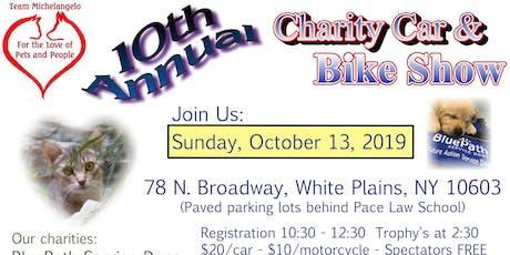 Team Michelangelo's 10th Annual Charity Car & Bike Show tickets