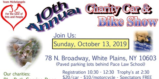 Team Michelangelo's 10th Annual Charity Car & Bike Show