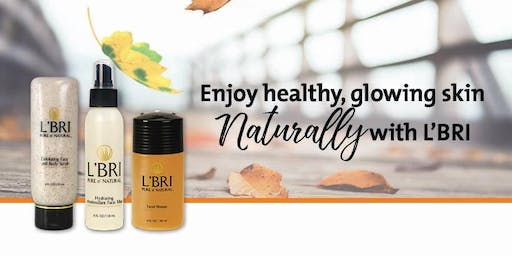 Personal Appt. to TRY L'BRI Pure n' Natural Skin care & makeup!