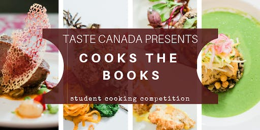 2019 COOKS the BOOKS - A student chef battle