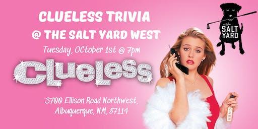 Clueless Trivia at The Salt Yard West