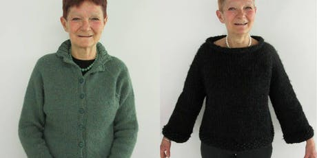 Learn to knit a 'Top Down' cardigan or sweater  tickets