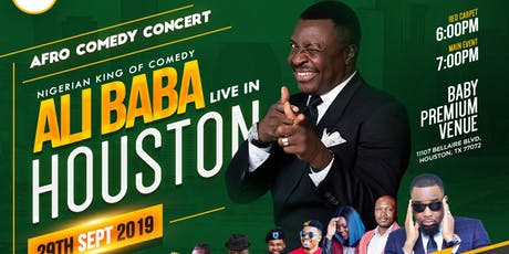 ALI BABA live in Houston tickets