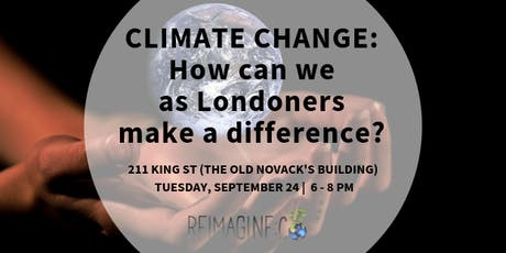 Climate change: How can we as Londoners make a difference? tickets